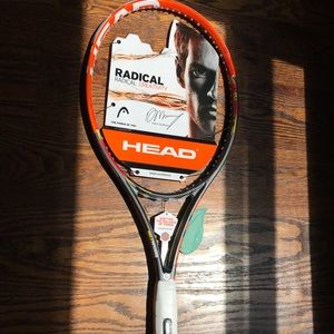 New Head Radical Pro Tennis Racquet